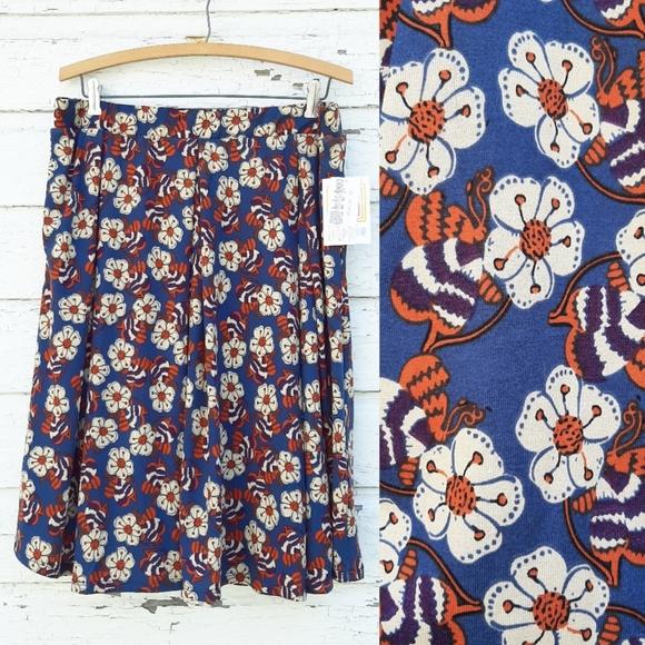 LuLaRoe Floral Madison Skirt